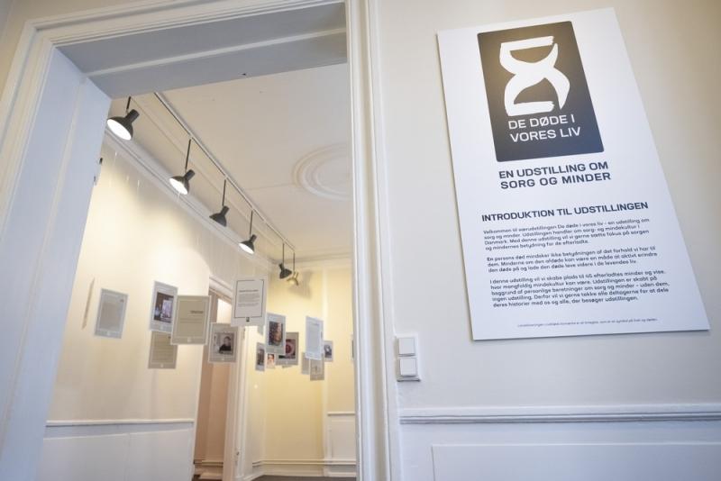 Indgang til udstillingen