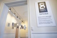 Indgang til udstillingen hos Landsforeningen Liv&Død