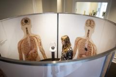 Sorgklumpen i udstillingen hos Landsforeningen Liv&Død