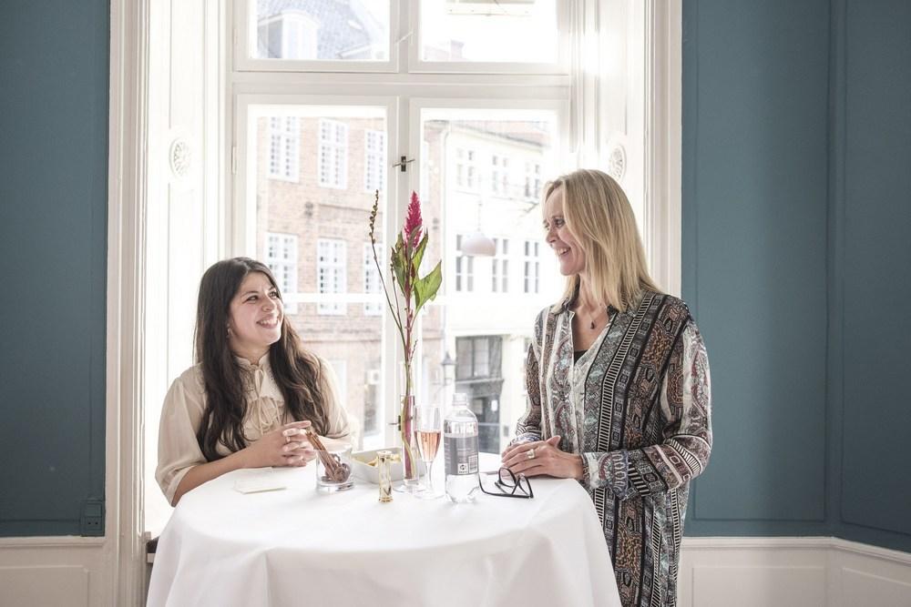 Pia Bindra og Kirsten Søndergaard.