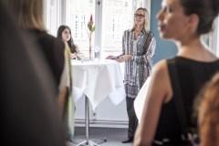 Kirsten Søndergaard fra Landsforeningen Liv&Død bød velkommen.