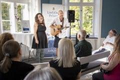 Fastpoholmen spillede en række af deres numre til Liv&Død Pris receptionen.
