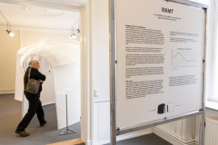 Introrummet til udstillingen