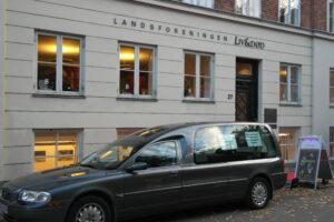En rustvogn vil være parkeret foran Liv&Døds bygning under Kulturnatten 2013.
