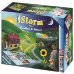 """Brætspillet """"Little Storm siger goddag og farvel""""."""
