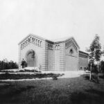 Krematoriet på Nyelandsvej, 1904