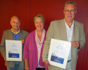 Liv&Død prisen 2012 til Per Bøge og Jes Dige